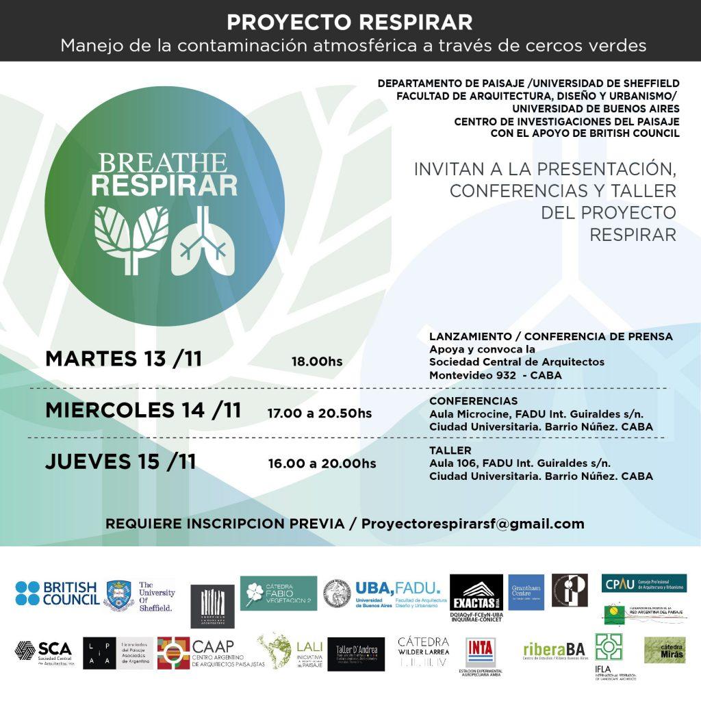 Taller Proyecto RESPIRAR / BREATHE